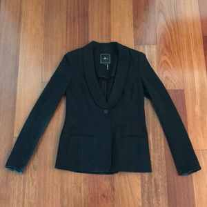 7 For All Mankind Black Blazer